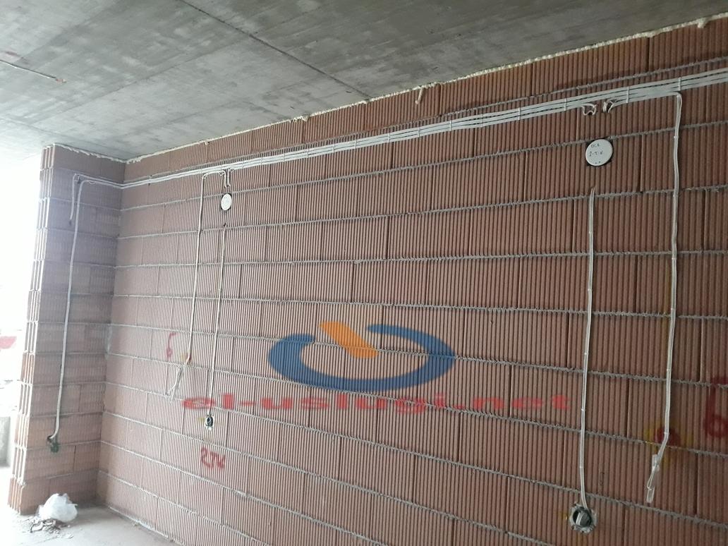 Изграждане на ел. инсталация на жилищна сграда
